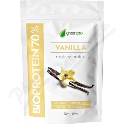 BioProtein 70% GreenPro Vanilka 300g
