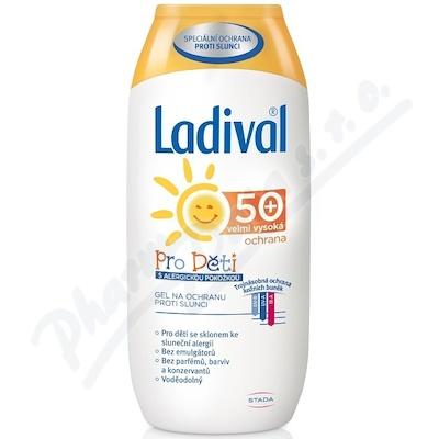 Ladival Allergy gel na opalování pro děti SPF50+ 200 ml