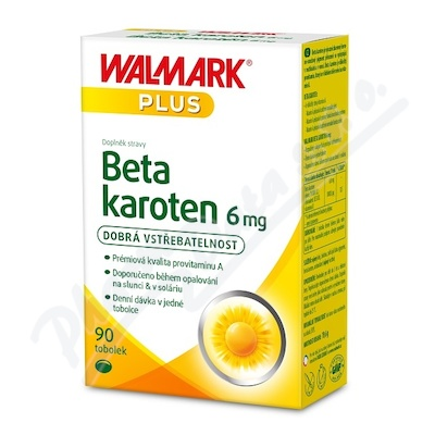 Walmark Beta karoten 6mg tob.90