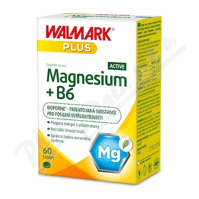 Walmark Magnesium + B6 ACTIVE tbl.60