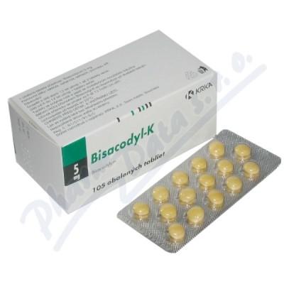 Bisacodyl-K drg.105x5mg