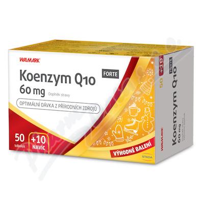 Walmark Koenzym Q10 FORTE 60mg tob.50+10 Promo2021