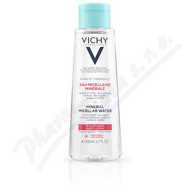 VICHY Pureté Thermale Micelární voda sensit. 200ml