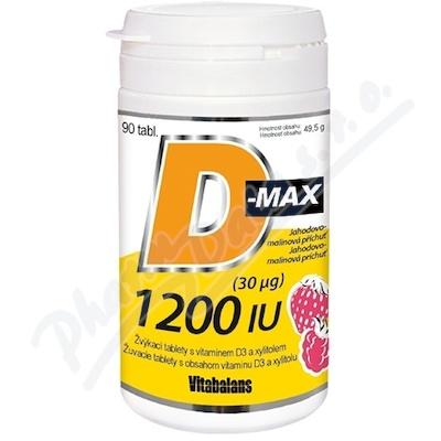 D-Max 1200 IU tbl.90