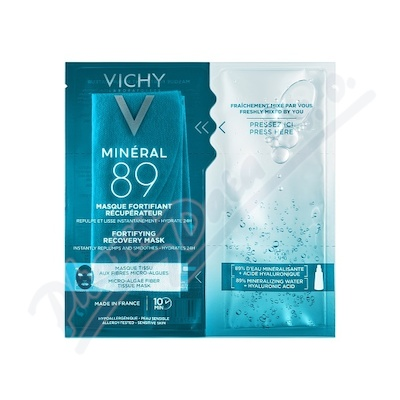 Vichy Mineral 89 Hyaluron-Booster pleťová maska 29 g