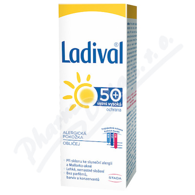 LADIVAL ALERG obličej OF50+ gel 50ml