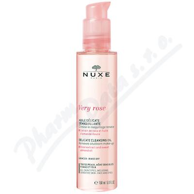 NUXE Very rose Delikátní odličovací olej 150ml
