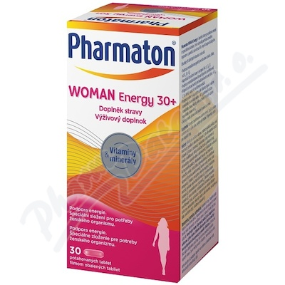 Pharmaton Women Energy 30+, 30 tablet