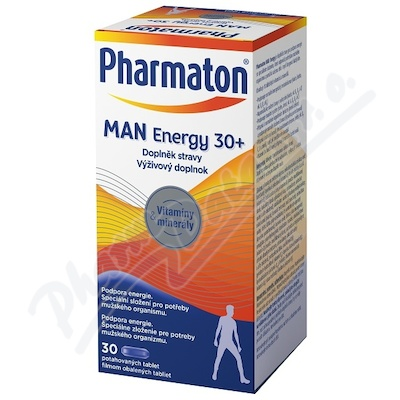 Pharmaton Man ENERGY 30+, 30 tablet
