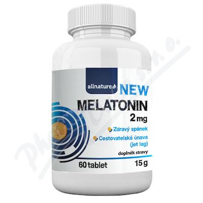 Allnature Melatonin 2mg tbl.60