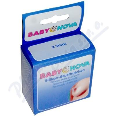 BABY NOVA Silikonový prsní klobouček 2ks 39301