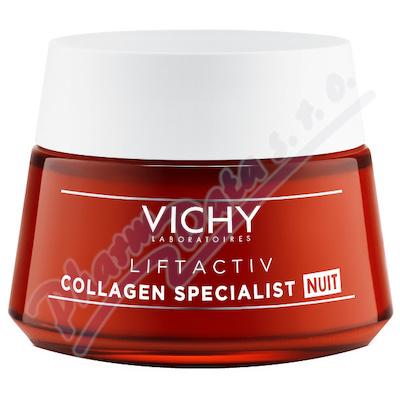 VICHY Liftactiv Collagen Specialist noční péče proti vráskám 50 ml