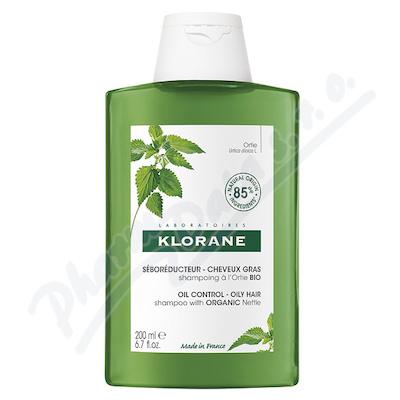 KLORANE Šampon s BIO kopřivou mastné vlasy 200ml