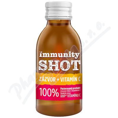 LEROS Immunity SHOT Zázvor+Vitamín C 150ml