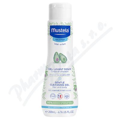 Mustela Jemný čist.tělový/vlasový gel 200ml repack
