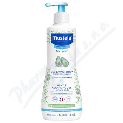 Mustela Jemný čist.tělový/vlasový gel 500ml repack