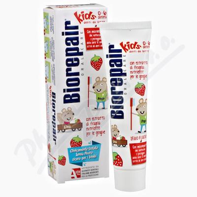 Biorepair Junior 0-6let zubní pasta jahoda 50ml