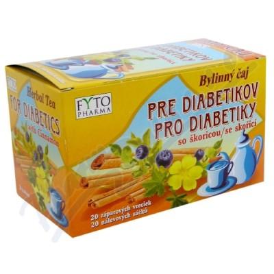 Byl.čaj se skořicí EUDIABEN 20x1.5g Fytopharma