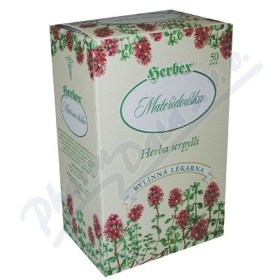 HERBEX Mateřídouška obecná čaj sypaný 50g