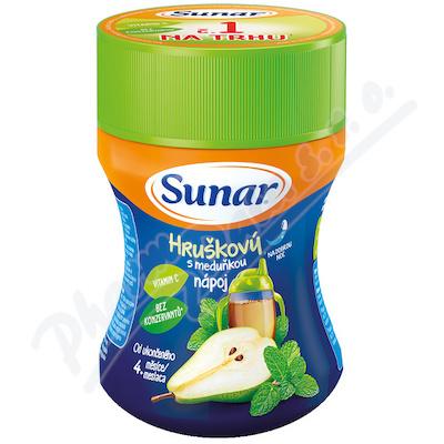 Sunar rozpustný nápoj meduňkový s hruškami 200g