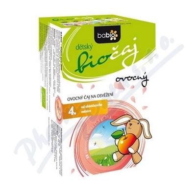 BABIO dětský biočaj ovocný 20x1.5g 4M