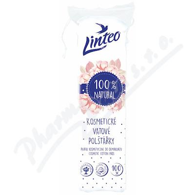 Vatové polštářky LINTEO - bílé - 100 ks