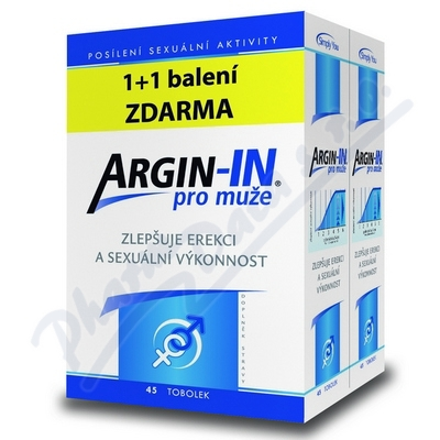 Argin-IN pro muže tob.45 + Argin-IN tob.45 zdarma