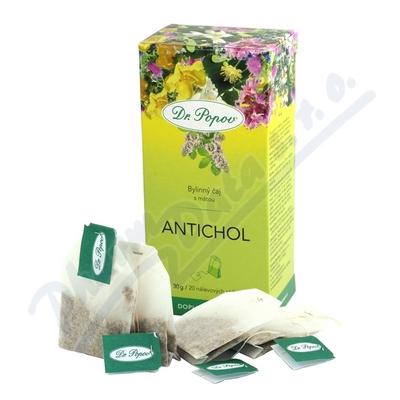 Dr.Popov Čaj Antichol 20x1.5g