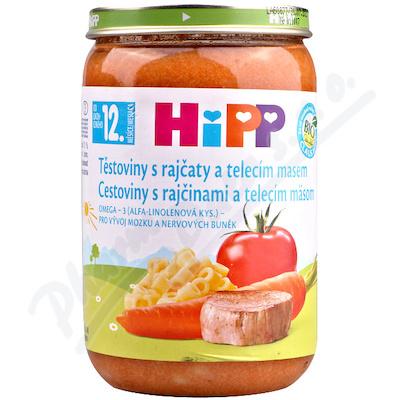 HiPP MENU BIO Těst.s rajč.a tel.m. 220g