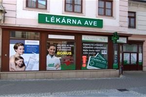 Osobní odběr - Šumperk- Lékárna AVE