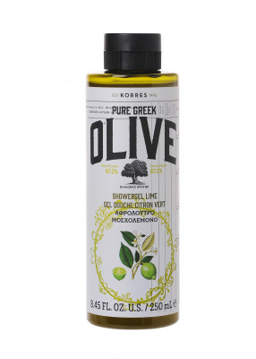 Korres Pure Greek Olive Lime sprchový gel s vůní limetky 250ml