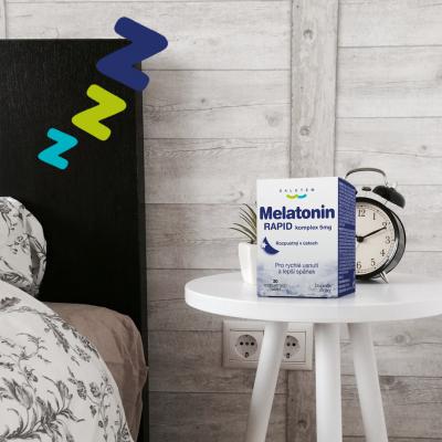 Vliv melatoninu na naše zdraví