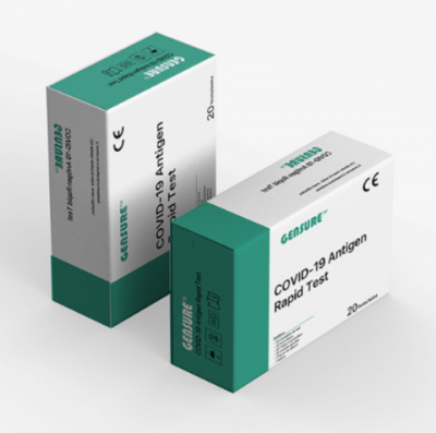 GenSureTM COVID-19 Antigen Rapid Test  ze slin, 20ks
