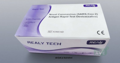 Novel Coronavirus (SARS-Cov-2) Antigen rapid test Device (saliva) 5ks