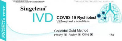 Hangzhou Singclean COVID-19 Antigen Test Kit Colloidal Gold 1 ks