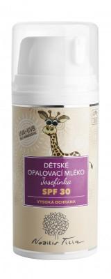Nobilis Tilia dětské opalovací mléko Josefínka SPF30 100 ml