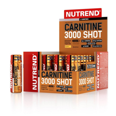 NUTREND CARNITINE 3000 SHOT 20x 60 ml ananas