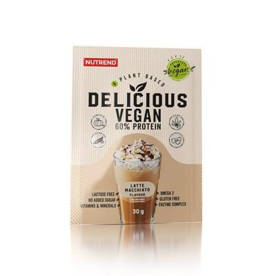 Nutrend Delicious Vegan Protein latte macchiato 30G
