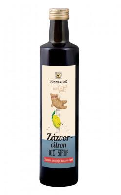 Sonnentor Zázvor - citron sirup 500ml
