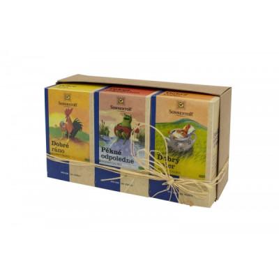 Sonnentor Dárkové balení 3 čajů - Hezký den