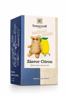 Sonnentor Zázvor Citron