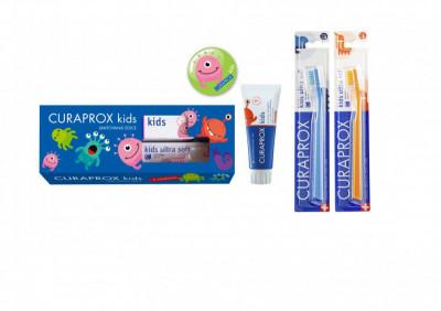 CURAPROX Kids limitovaná edice, jahoda bez fluoridu