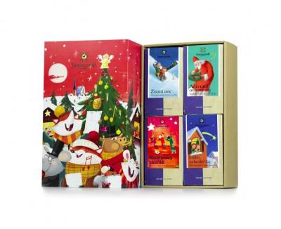 SONNENTOR Dárková kazeta čajová – Kouzelné Vánoce