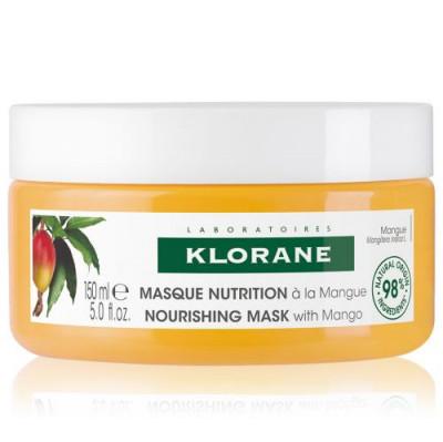 KLORANE Maska mango na suché vlasy 150ml