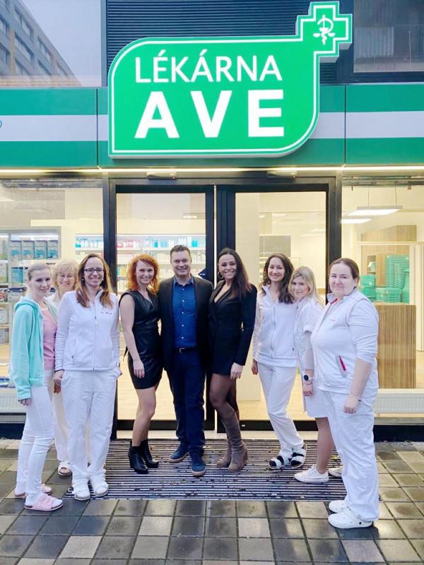 Nově otevřené pobočky lékáren AVE