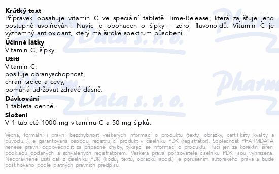 GS Vitamin C1000 se šípky Akut tbl.10