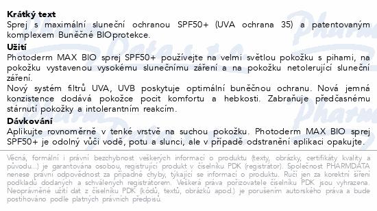 BIODERMA Photoderm MAX sprej SPF50+ 200ml