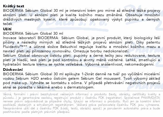 BIODERMA Sébium Global 30ml
