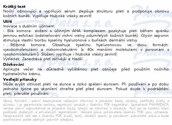 EUCERIN HYALURON-FILLER Noční obn+vyplň.sérum 30ml