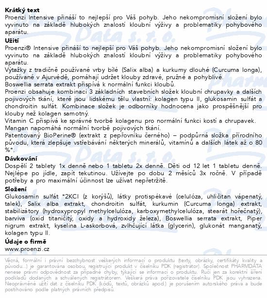 Walmark Proenzi Intensive tbl.120+60